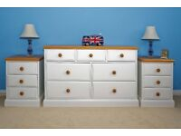 Bedside Drawers & Chest of Drawers