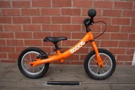Balance Bike, Orange Ridgeback Scoot, includes extendable seat post & rear brake