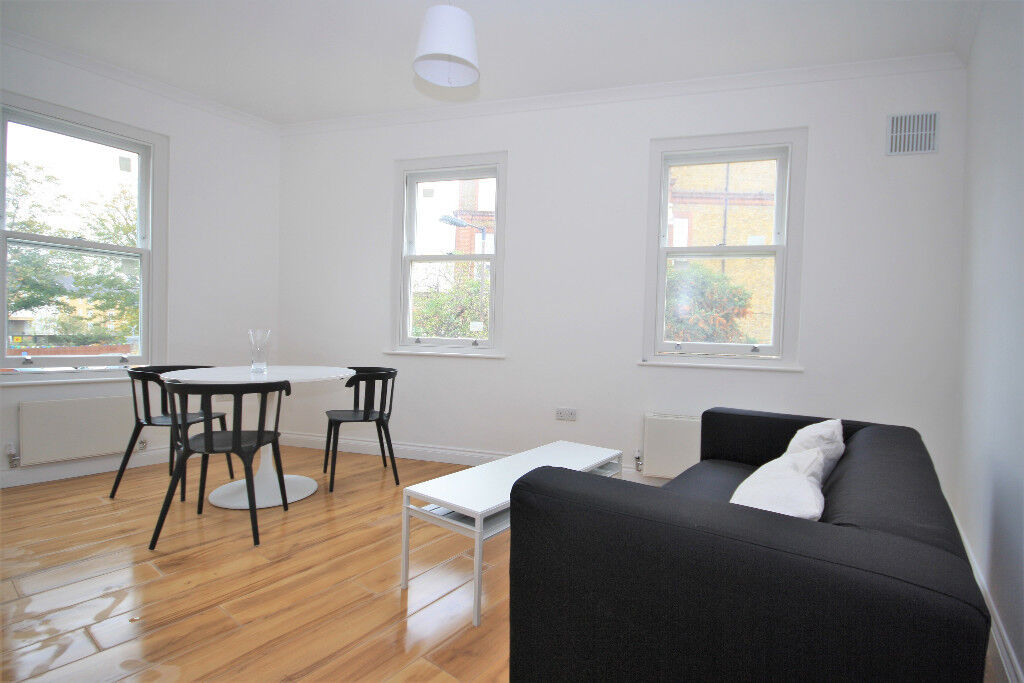 BRAND NEW 1 bed flat on 1st floor of converted Victorian block in heart of Peckham High Street