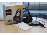 sony wireless comfort headphones RF811RK