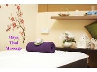 Raya Thai, Deep tissue, Sport, Relaxing hot oil and mixed massages.