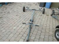 Launching Trolley / Trailer for 8-10ft Boat