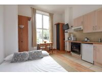 West Cromwell Road SW5. A beautiful self contained studio flat to rent. Available now