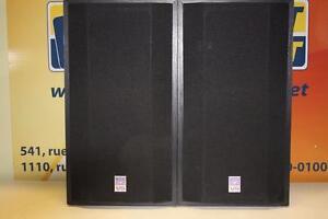 Paire de haut parleur Cerwin Vega -Instant Comptant-
