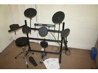 Alesis DM5 STANDARD complete electronic drum kit with all pedals + stool + headphones