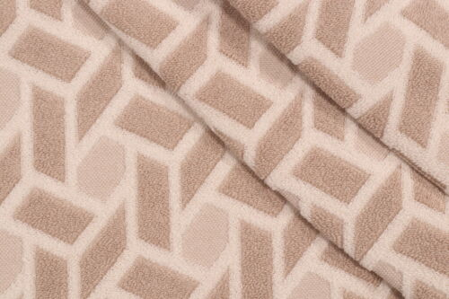 6G6 CONTEMPORARY GEOMETRIC WOVEN UPHOLSTERY FABRIC MULTI NEUTRAL BTY