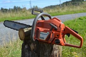 Chainsaw Husqvarna 136 Chainsaw - Firewood Chainsaw - Offers