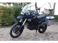 BMW F800GS full pannier, lots of upgrades and extras, scorpion end can - FSH - just serviced.