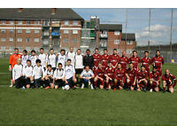 Football players wanted: Training (UEFA B coach) 8.30pm Wednesday and play Sunday in FA league