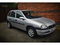 BARGAIN CHEAP CAR VAUXHALL CORSA LOW MILES FSH 1.2 16V 5 DOOR IDEAL 1ST CAR