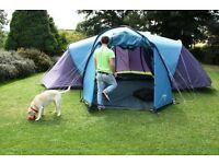 Vango 600DLX 6 person family tent