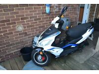 2016 lexmoto fmr wy 50 qt-58 50cc spares or repair