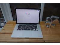 Macbook Pro 8GB memory, 500GB HDD, 2.2GHz Intel Core i7 (Late 2011) - Immaculate condition
