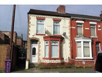 75 Makin St, Walton. 3 bedroom end terraced house with GCH and double glazing. LHA welcome