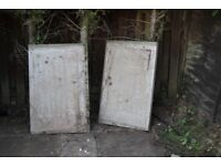 2 Concrete Paving Slabs - 900mm x 600mm x 50mm