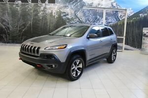 2016 Jeep Cherokee TRAILHAWK 4X4 *FULL CUIR/TOIT/NAV/CAMERA*
