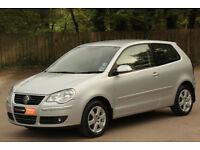 *Beautiful*2009 VW Polo 1.2 Match 3dr, Low Mileage, Top Spec., Met. Silver*12 Months Warranty Inc*