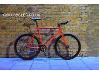 Special Offer GOKU ALLOY / STEEL Frame Single speed road bike TRACK bike fixed gear bike y22