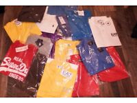 20x T-Shirts EA7 - Polo - GymKing - Lacoste - SuperDry
