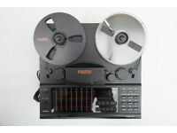 Fostex Model 80 Reel to Reel 1/4 Inch Tape Recorder - Amazing Condition - Working Perfectly