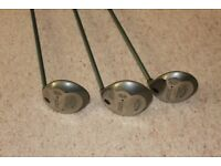 Golf Clubs Ladies Callaway 2 woods and 1 driver with covers