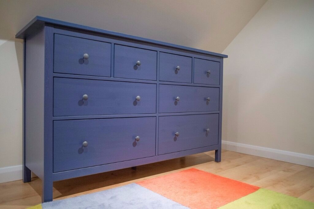 Image Result For Ikea Hemnes Blue Chest Drawers