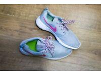 Nike Roshe One Grey & Pink / Size 5.5UK - 38.5EUR