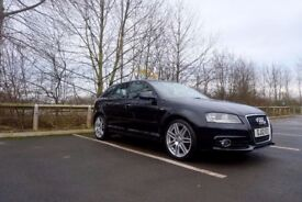 Audi A3 S Line Automatic DSG 2012 5 Door Black *Full Leather* 5DR 2.0 TDI Diesel Hatchback AC AirCon