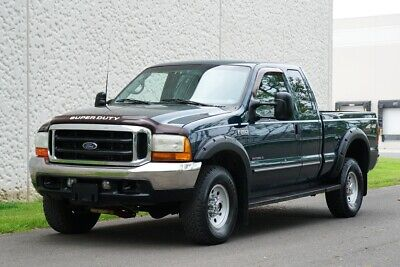 1999 Ford F-250 XLT TURBO DIESEL NO RESERVE AUCTION SEE YOUTUBE 1999 Ford Super Duty F-250 XLT 4x4 Extended Cab Turbo Diesel Pick Up Truck
