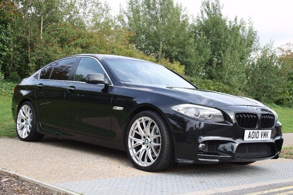 2010 BMW 5 Series 3.0 530d M SPORT PACK, FSH, SATNAV,WARRANTY, AUTOMATIC, PX WELCOME, LOW MILES