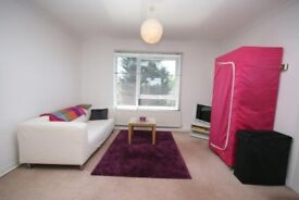 VERY LARGE STUDIO FLAT WITH LOUNGE PARTITION EAT-IN KITCHEN + LOADS OF STORAGE! MODERN AND SPACIOUS!