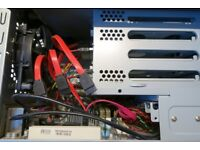 NAS/Server Atom 1.6GHz based , 4G RAM 256G Hard Disk , 4 Bays , good condition