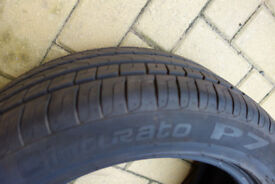 Pirelli run flat tyre 225/50/17 8mm thread