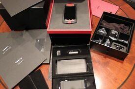 New 100% Genuine Vertu Ferrari Ti - 1 year Warranty & receipt