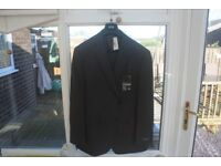 marks and spencer two piece grey suit brand new never worn ,labels still attached