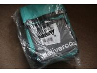 New Deliveroo roll up bag & Thermal bag (unopened/new + helmet if you want)