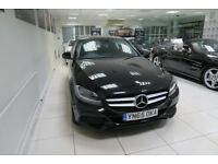 MERCEDES-BENZ C CLASS 2.1 C220d SE (Executive) 4dr (start/stop) (black) 2015