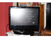 TV with built in Freeview, DVD player and HDMI
