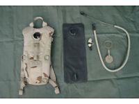 US Military - Desert Camoflague 3L Camelbak Hydration System