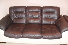 3 Seater Sofa, Armchair and Footstool for sale