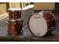 "!!RARE!! 1970s SLINGERLAND MODERN JAZZ KIT SIZES 20""14""12"" VGC (Collection LE27QT) !!RARE!!"