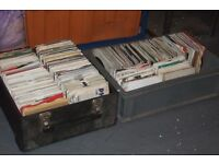 "700 x 7"" 1960's - 80's Pop / Beat Collection & Record Case"