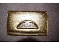 Christian Dior Gold Purse - 100% real