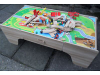 Large Train set & Activity Table rrp £149.99