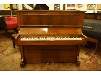 C. Bechstein upright piano - Previously restored - Tuned and UK delivery available