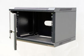 Wall Mounted Data Cabinet (Black)