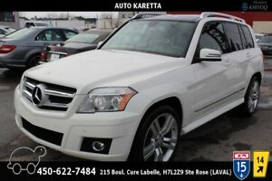 2010 MERCEDES GLK350 4MATIC, TOIT PANORAMIC, PARKING SENSOR