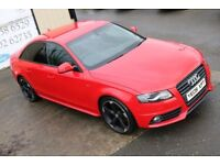 LATE 2009 AUDI A4 2.0TDI S LINE AUTO 141BHP !!BLACK EDITION SPEC!! SALOON ( FINANCE & WARRANTY)