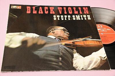 Stuff Smith LP Black Violin Orig Germany Top Jazz Basf Laminated Cover