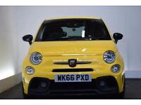 ABARTH 500 1.4 595 COMPETIZIONE [SAT NAV/LEATHER/MONZA] 3d 17 (yellow) 2016